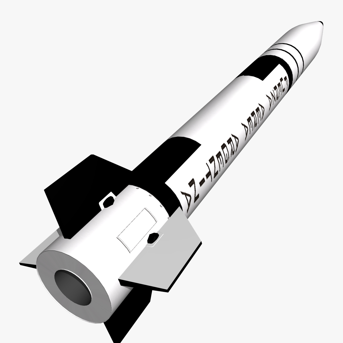 condor i-aiii/alacran missile 3d model 3ds dxf fbx blend cob dae x  obj 166207
