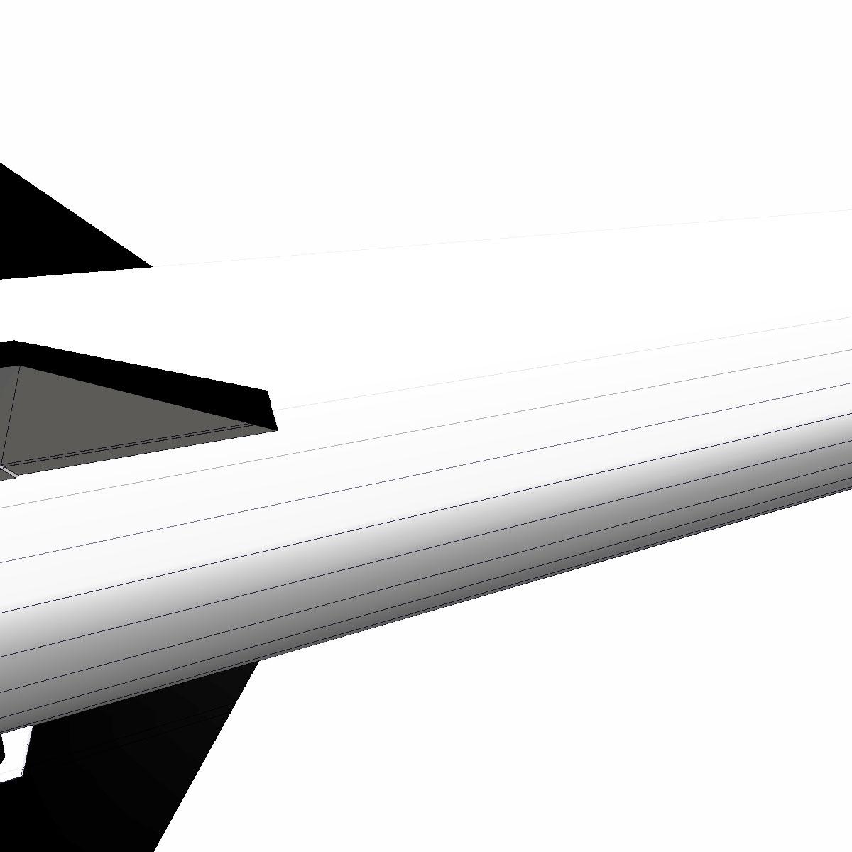 condor i-aiii/alacran missile 3d model 3ds dxf fbx blend cob dae x  obj 166215