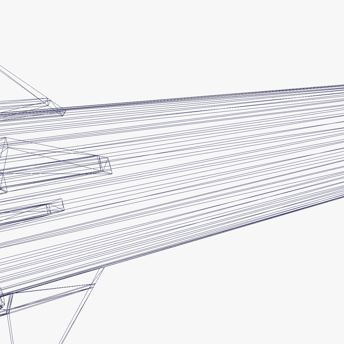condor i-aiii/alacran missile 3d model 3ds dxf fbx blend cob dae x  obj 166221