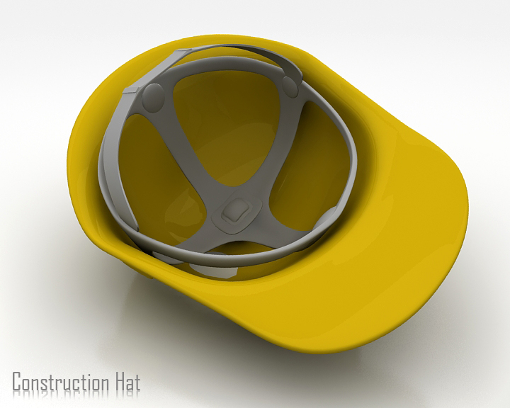 construction hat 3d model 3ds max obj 115316