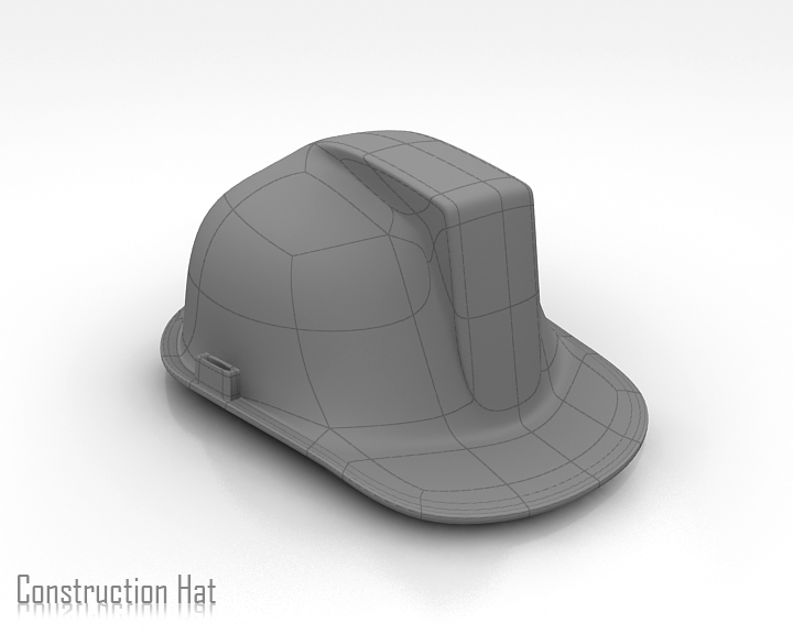 construction hat 3d model 3ds max obj 115317