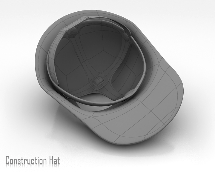 construction hat 3d model 3ds max obj 115318
