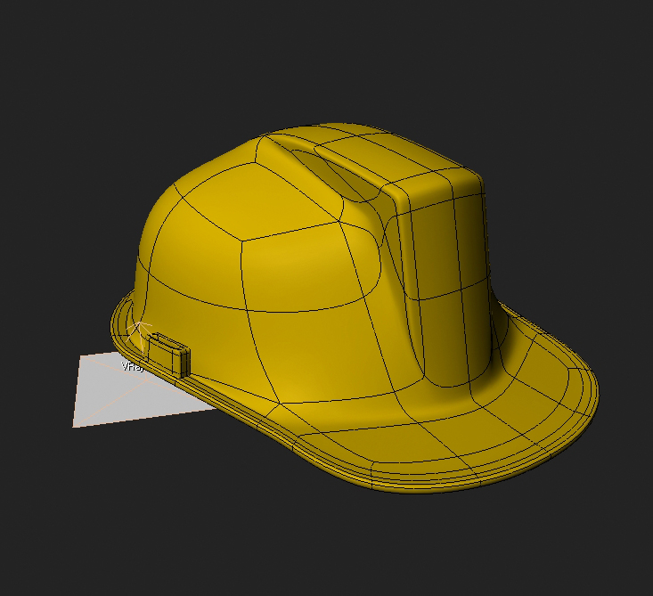 construction hat 3d model 3ds max obj 115319