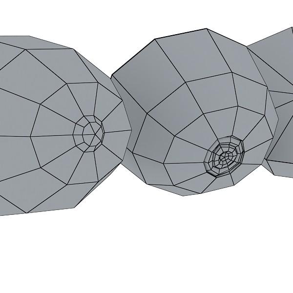 3D Model Kiwi Fruit in Basket ( 43.89KB jpg by VKModels )
