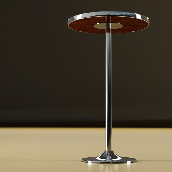 bar table and stool 3d model 3ds max fbx obj 148196