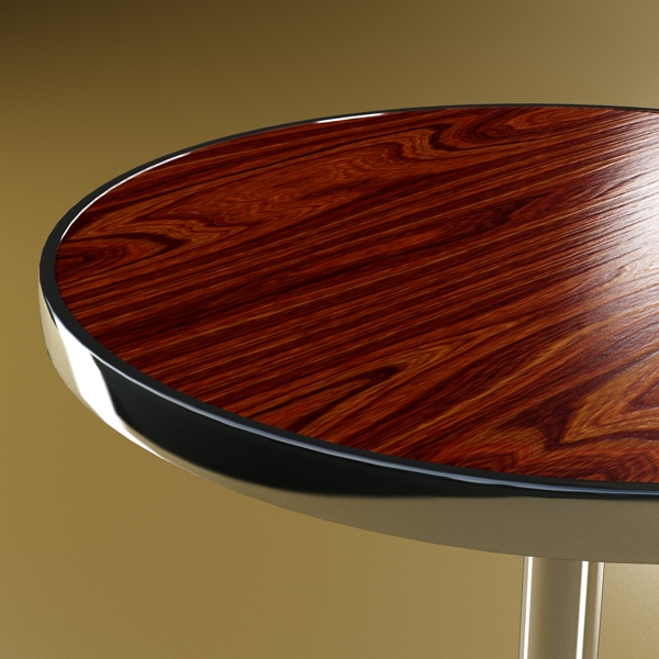bar table and stool 3d model 3ds max fbx obj 148197