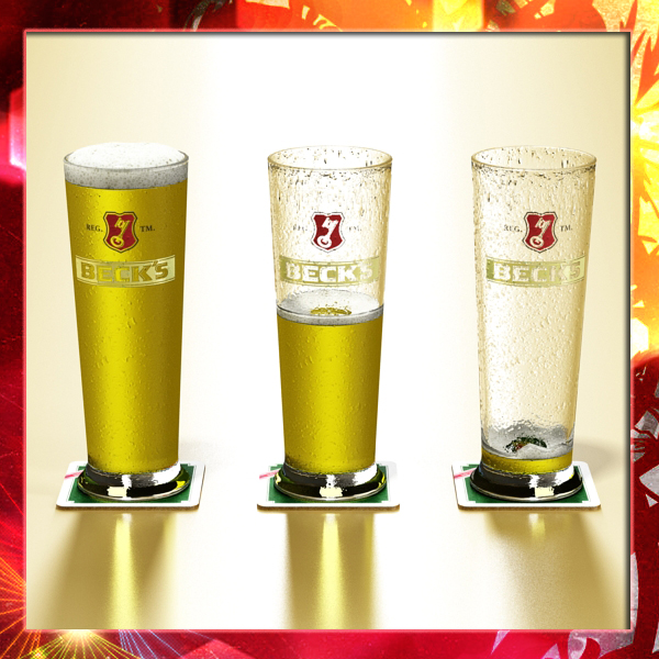 becks pint of beer 3d model 3ds max fbx obj 142493