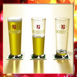 Becks Pint of Beer ( 280.3KB jpg by VKModels )