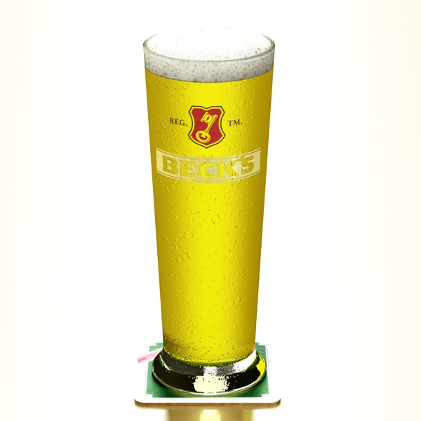 beer glass collection 3d model 3ds max fbx obj 142644