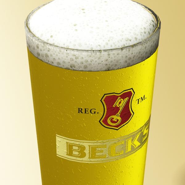 beer glass collection 3d model 3ds max fbx obj 142645