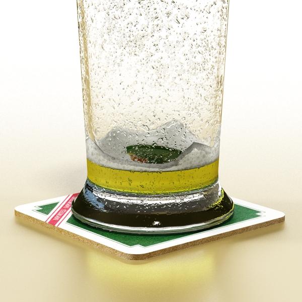 beer glass collection 3d model 3ds max fbx obj 142647
