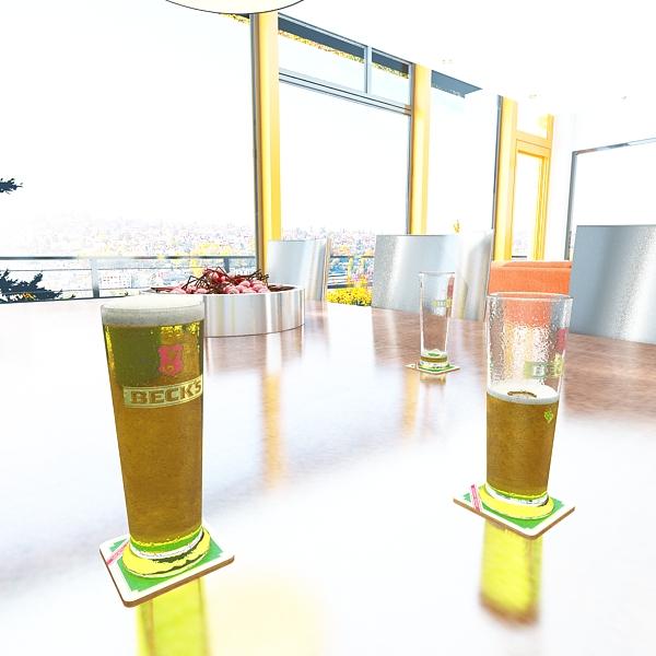 beer glass collection 3d model 3ds max fbx obj 142648