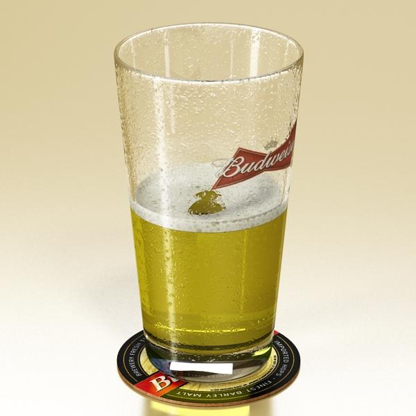 beer glass collection 3d model 3ds max fbx obj 142656