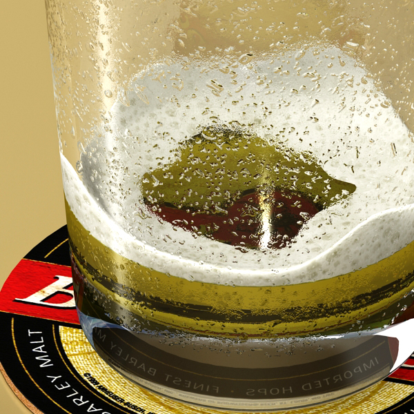beer glass collection 3d model 3ds max fbx obj 142658