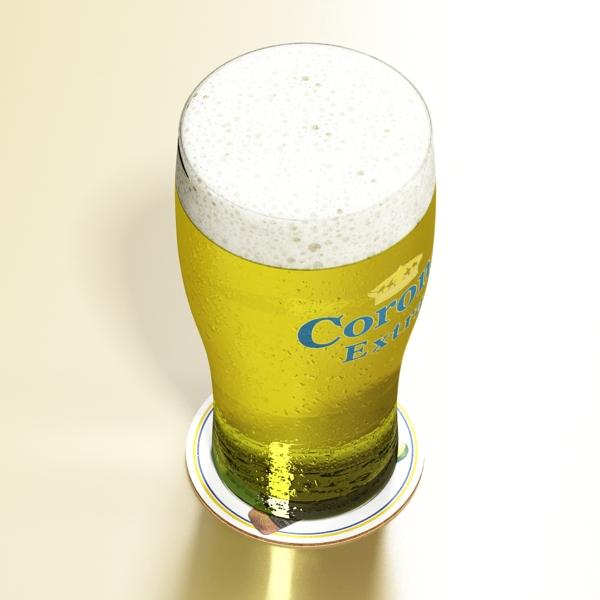 beer glass collection 3d model 3ds max fbx obj 142669