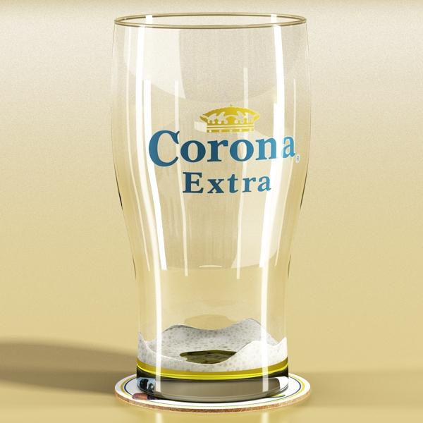 beer glass collection 3d model 3ds max fbx obj 142675