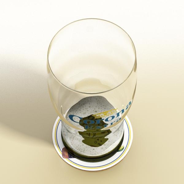 beer glass collection 3d model 3ds max fbx obj 142676