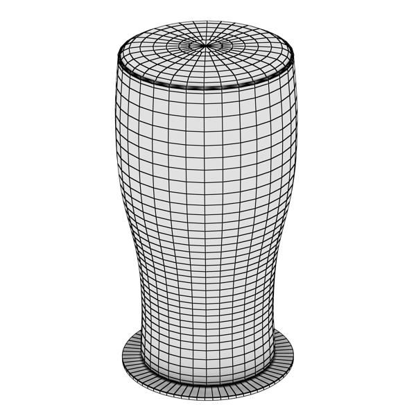 beer glass collection 3d model 3ds max fbx obj 142678