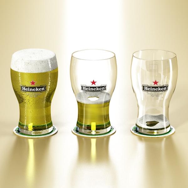 beer glass collection 3d model 3ds max fbx obj 142682