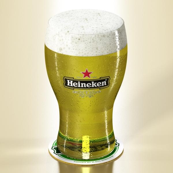 beer glass collection 3d model 3ds max fbx obj 142684