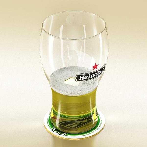 beer glass collection 3d model 3ds max fbx obj 142686