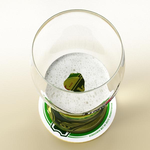 beer glass collection 3d model 3ds max fbx obj 142687