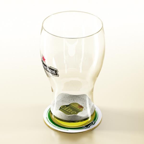 beer glass collection 3d model 3ds max fbx obj 142688