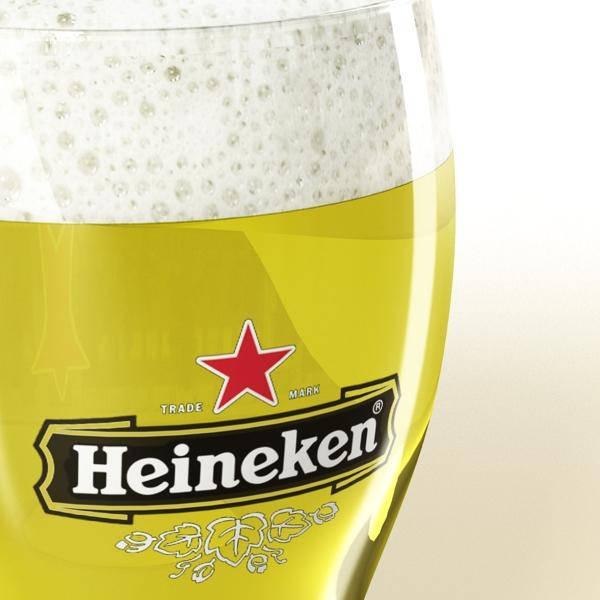 beer glass collection 3d model 3ds max fbx obj 142691