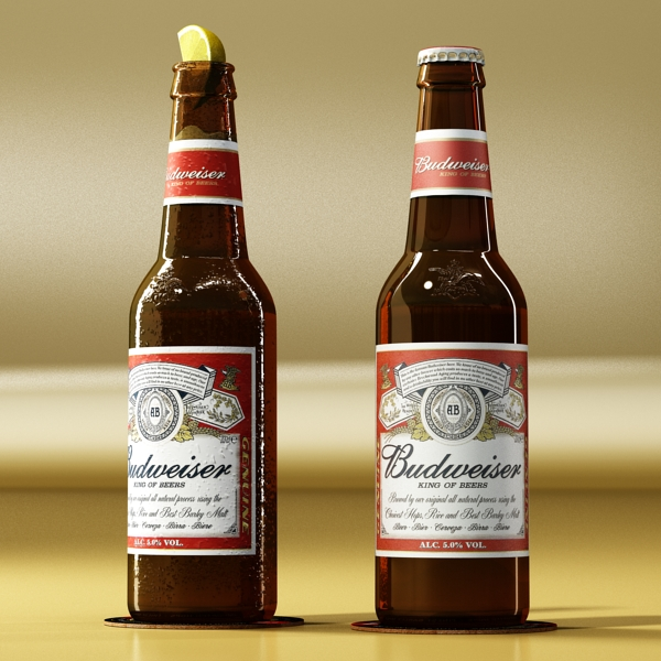 Budweiser Beer Bottle