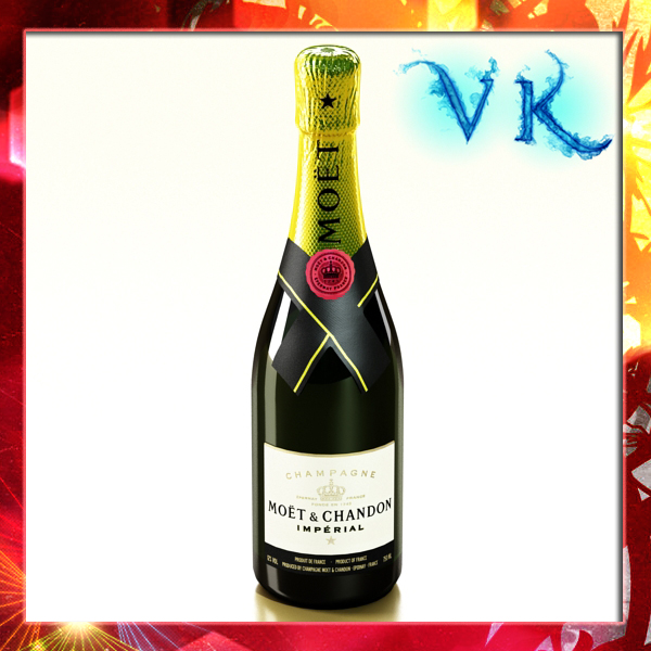champagne moet chandon bottle 3d model 3ds max fbx obj 143479