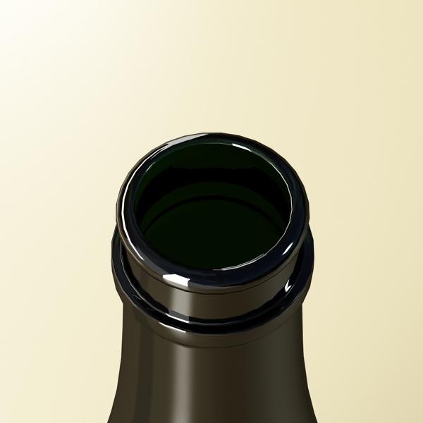 kampavín verður chandon flaska 3d líkan 3ds max fbx obj 143484