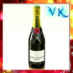Champagne Moet Chandon Bottle ( 224.38KB jpg by VKModels )