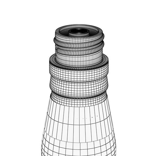 chivas regal bottle, glass and coaster collection 3d model 3ds max fbx obj 139941