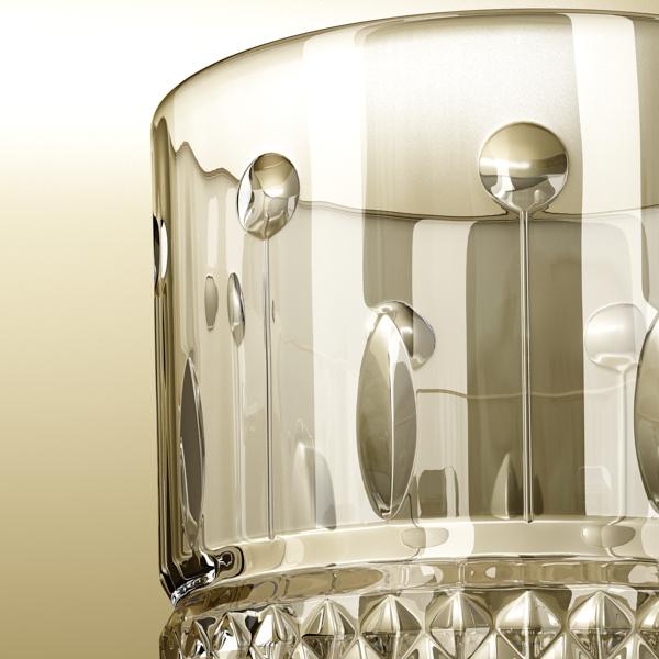 chivas regal bottle, glass and coaster collection 3d model 3ds max fbx obj 139945