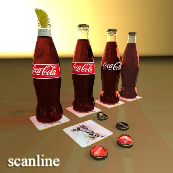 Coke – Coca Cola Glass Bottle
