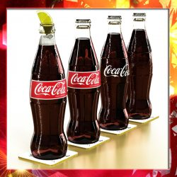 Coke - Coca Cola Glass Bottle ( 305.52KB jpg by VKModels )