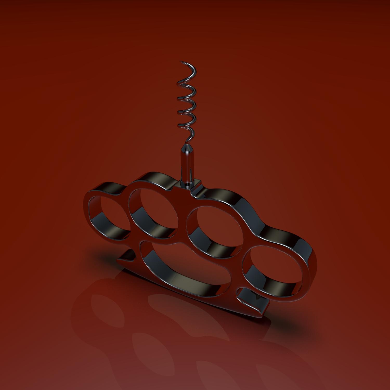 corkscrew obj 3d model blend obj 119358