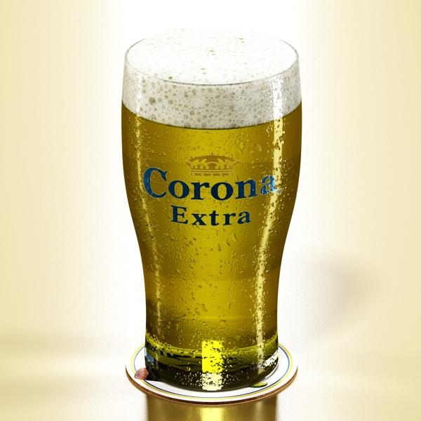 corona bjór safn 3d líkan 3ds max fbx obj 141573