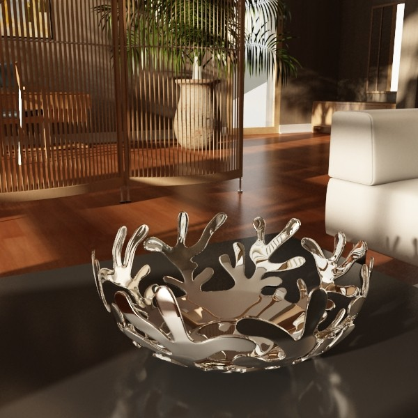 decorative bowl 04 3d model 3ds max fbx obj 132722