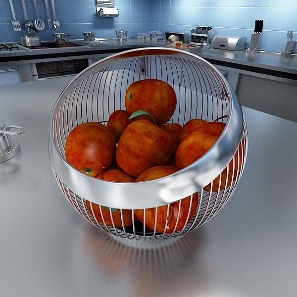 fruits & basket collection 2 3d model 3ds max fbx obj 133905