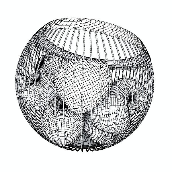 fruits & basket collection 2 3d model 3ds max fbx obj 133910