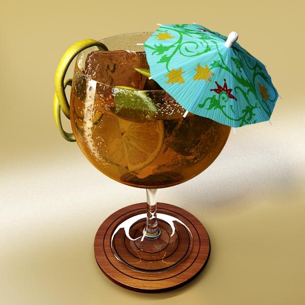high detailed cocktail umbrella 3d model 3ds max fbx obj 138913