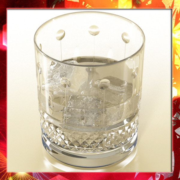 high detailed cut glass 8 3d model 3ds max fbx obj 140742