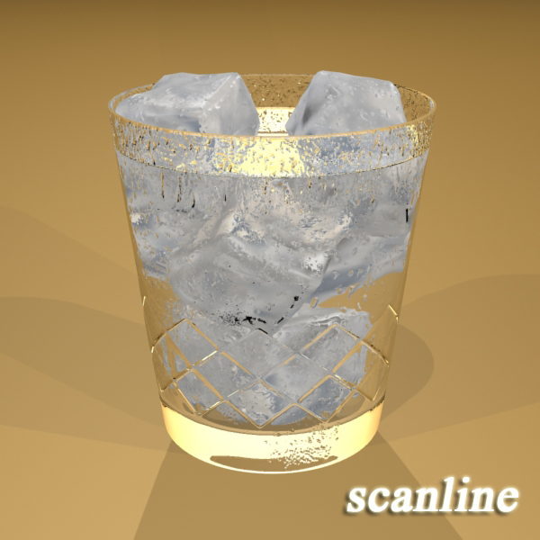 high detailed glass 7 3d model 3ds max fbx obj 140756