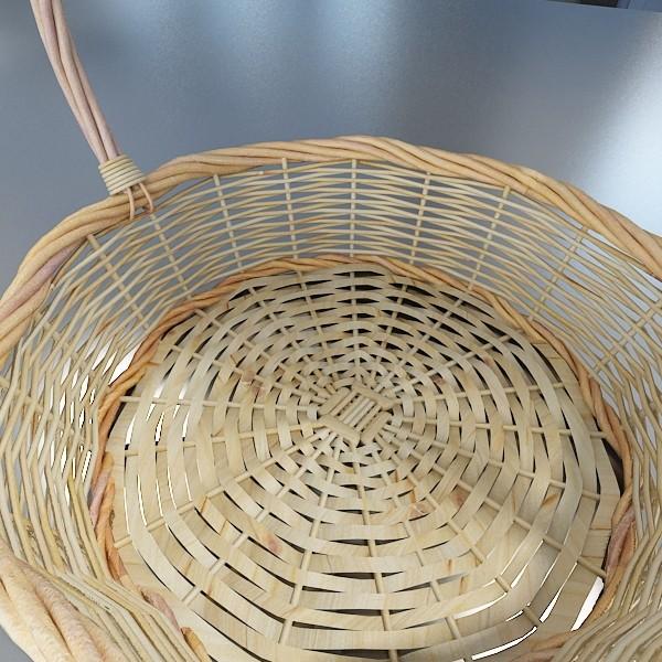 kiwi fruit in basket 3d model 3ds max fbx obj 132803