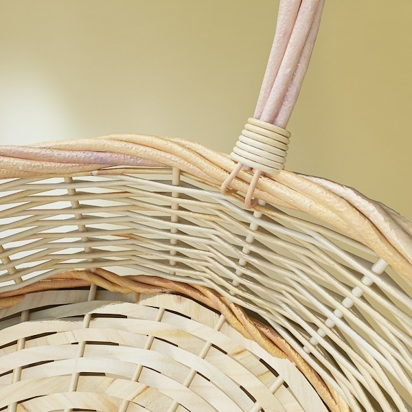 kiwi fruit in basket 3d model 3ds max fbx obj 132806