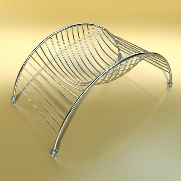 lemons in decorative metal wire container 3d model 3ds max fbx obj 132604