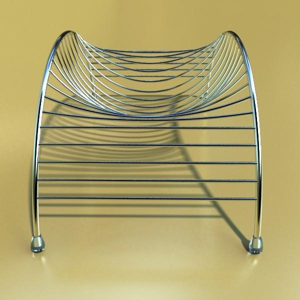 lemons in decorative metal wire container 3d model 3ds max fbx obj 132606