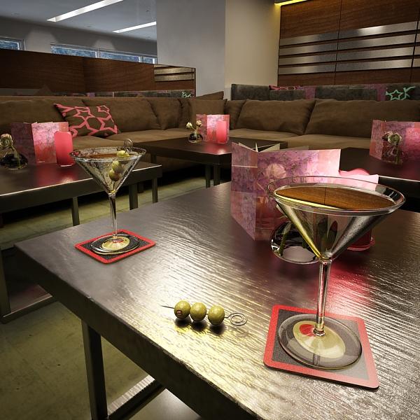 martini liquor glass 3d model 3ds max fbx obj 136689