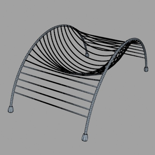 metal basket collection 3d model 3ds max fbx obj 133687